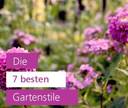 Welche Gartenstile gibt es