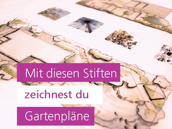 Gärten zeichnen: Das richtige Werkzeug