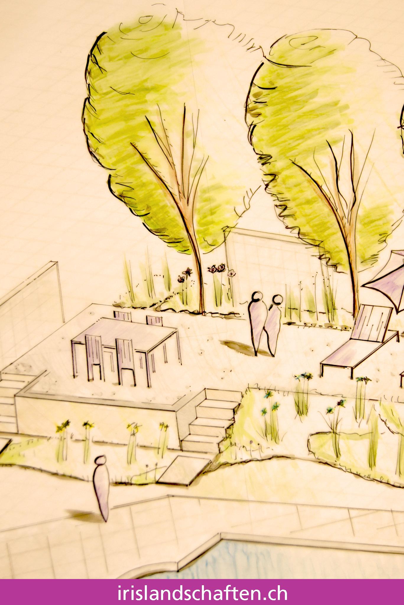 Gartenpläne zeichnen Gartengestaltung