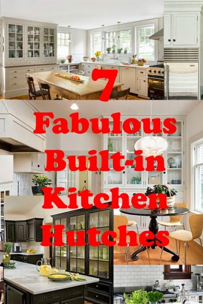 Day Dreaming About My Dream Home-Kitchen Hutches (Built-in)