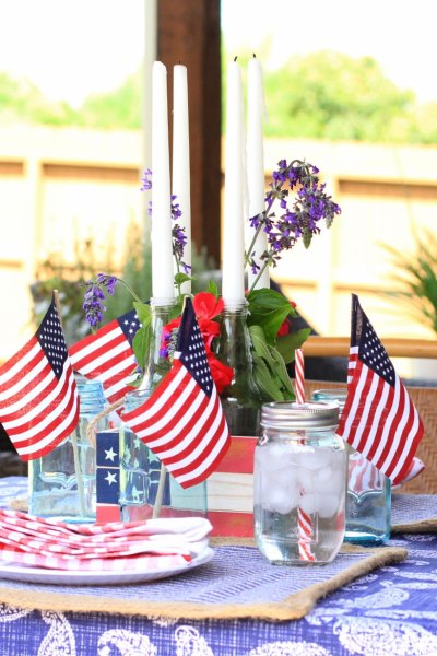 4th of July Outdoor Party Decor