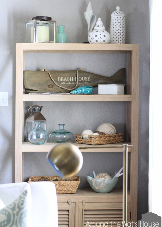 Coastal Shelving Decor