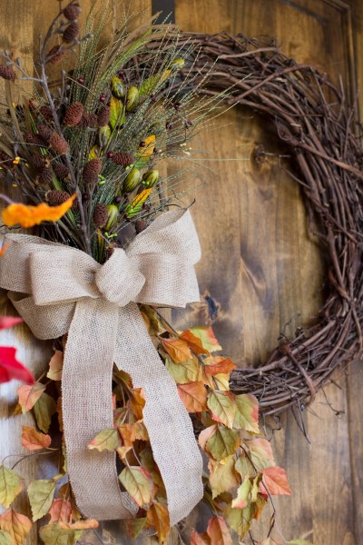 Fall Wreath (#CraftyFallYall)