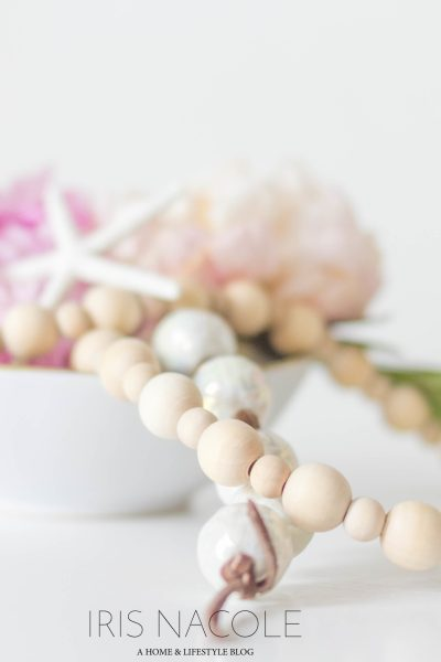DIY Decor-String of Beads
