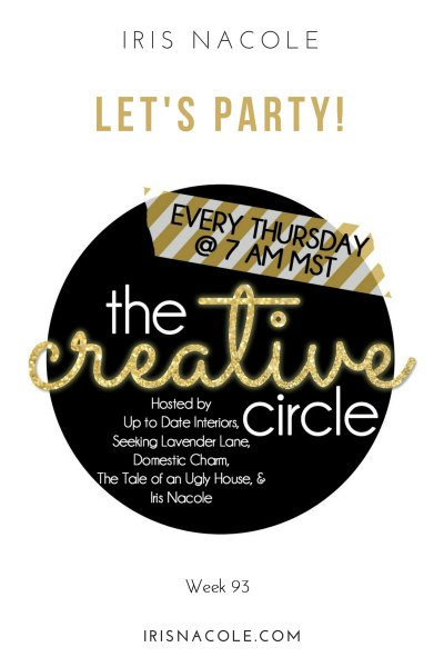 The Creative Circle Link Party-Week 93