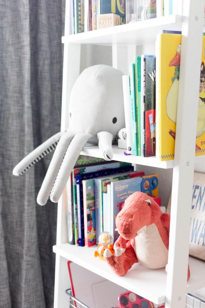 Modern Beach-Big Boy Bedroom-Makeover-Home Makeover-Kids Bedroom Inspiration-Stuffed Toy-IrisNacole.com