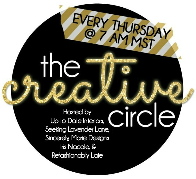 The Creative Circle Link Party-Thursday-Sunday-Hosts