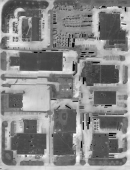 Aerial Infrared Roof Scans