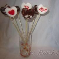 Конфеты - валентинки из маршмеллоу