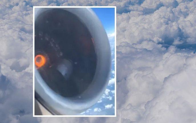 Lecisz sobie samolotem, zaglądajsz przez okno i widzisz to. Co robisz? [WIDEO]