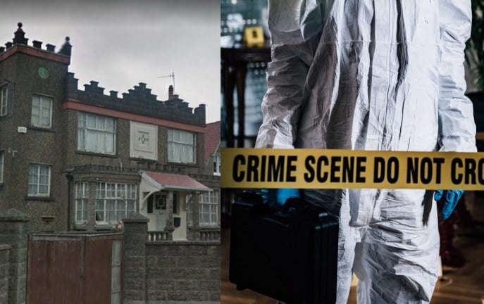 Ciało z odciętą głową i bez ramion znaleziono w opuszczonym domu w Cork [WIDEO]