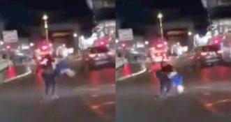 Bójka dwóch mężczyzn w Cork zakończona w przerażający sposób [WIDEO]