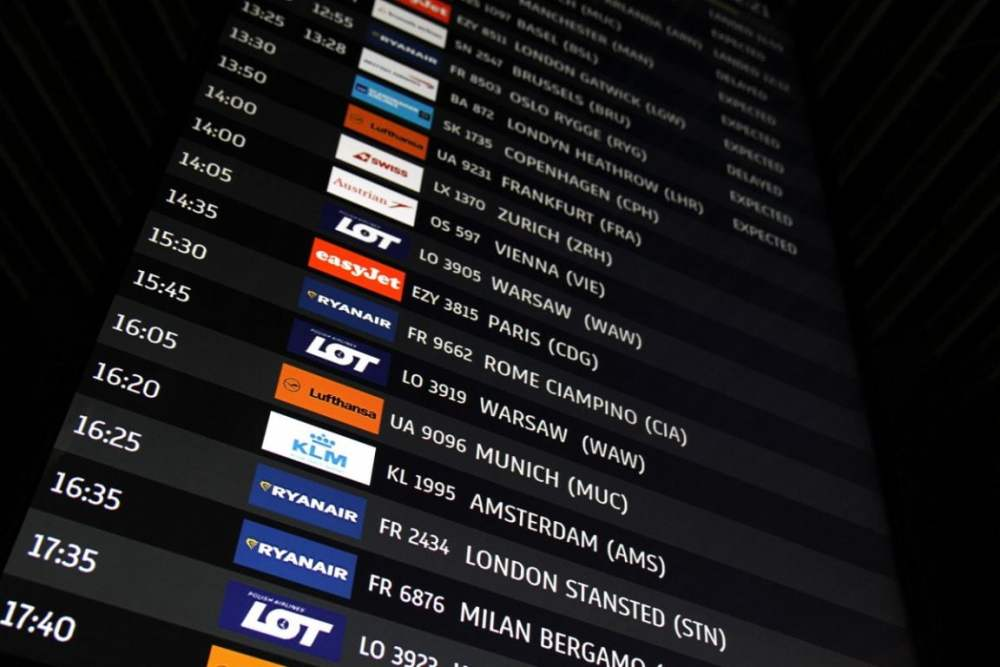 De nachtmerrie van Ryanair-passagiers op de luchthaven van Krakau die terug willen naar Dublin [WIDEO]