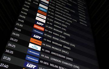 Koszmar pasażerów Ryanair na lotnisku w Krakowie, chcących wrócić do Dublina [WIDEO]
