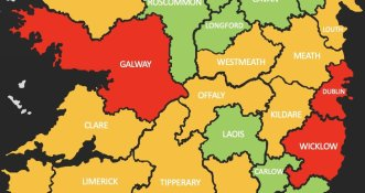 Nowy pięciostopniowy system restrykcji w Irlandii!
