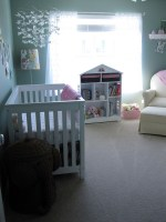Babyzimmer im schlafzimmer
