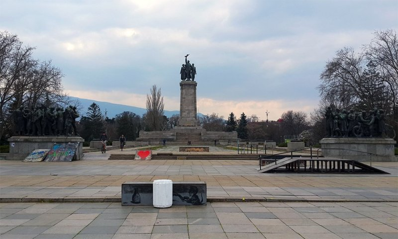 1 Day in Sofia Walking Itinerary   Monument of the Soviet Army in Sofia