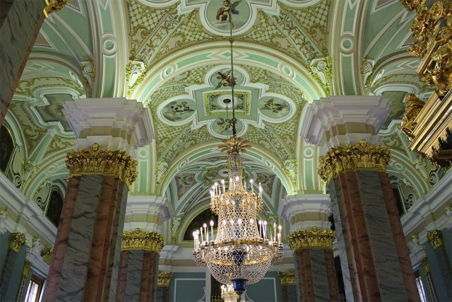 Peter and Paul Fortress: interiors | 7 Places to See on Your First Time in St. Petersburg