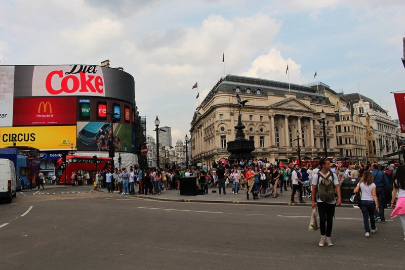 Piccadilly   London for free: places to visit and things to do