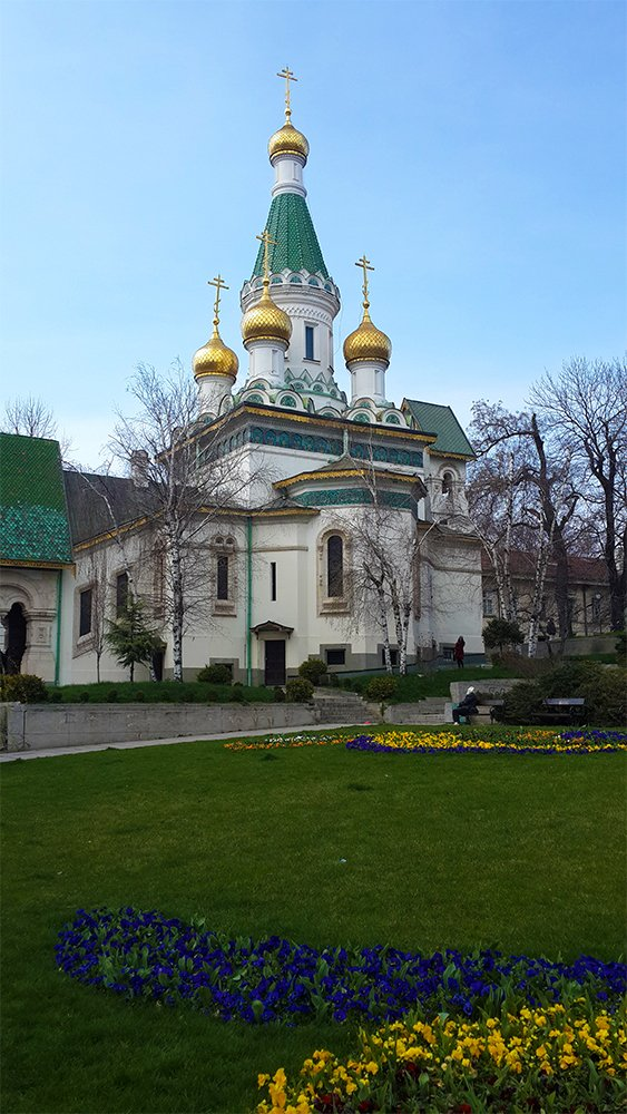 1 Day in Sofia Walking Itinerary | The Russian Church
