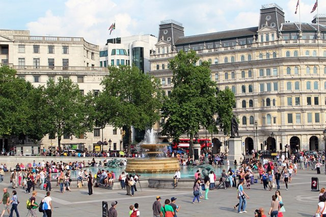 Trafalgar Square | London for free: places to visit and things to do