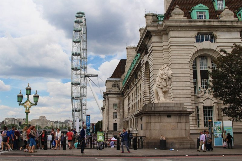 London Eye | 1 Day in London Walking Itinerary