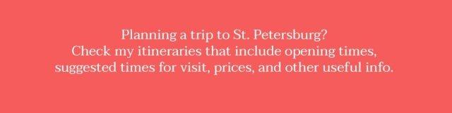 Itinerary St. Petersburg