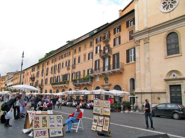 1 Day in Rome Walking Itinerary | Piazza Navona
