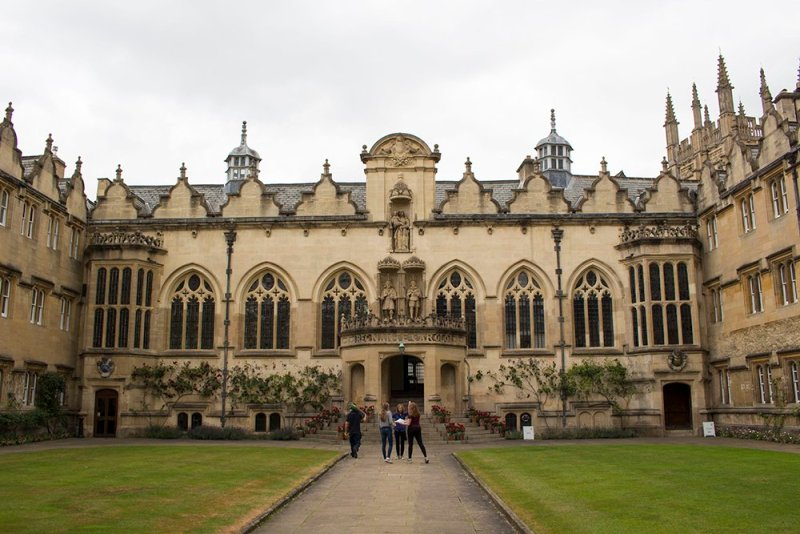 A DIY 1 day in Oxford Walking Itinerary