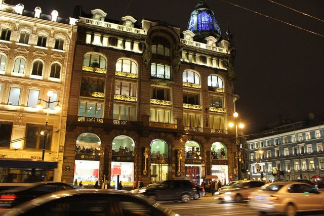 Places to Eat in St Petersburg | Singer Cafe