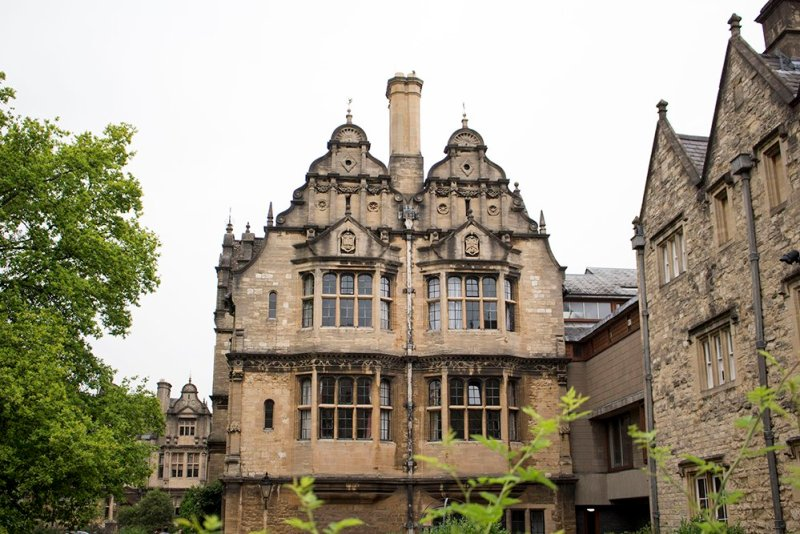 1 day in Oxford Walking Itinerary | Trinity College