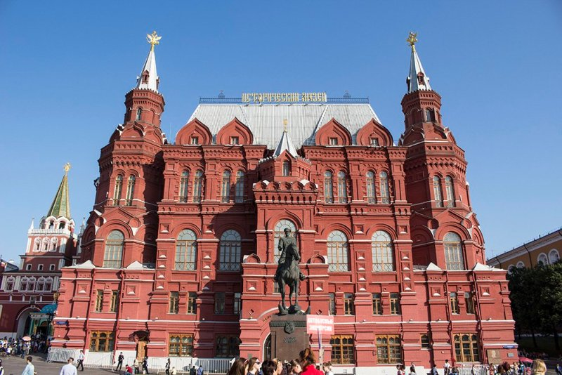 Architectural gems of Moscow, Russia | Museum of History in the Red Square