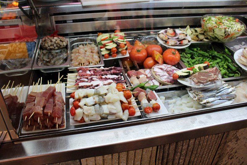 3 Weeks of Solo Travel in Spain, Part 4: 2 Days in Malaga | Food at Atarazanas Market