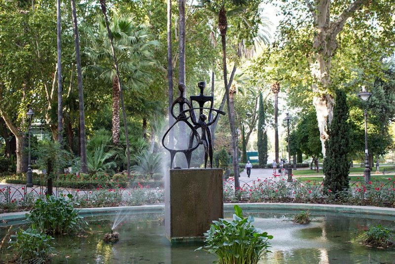 3 Weeks of Solo Travel in Spain, Part 2: a Very Long List of Places to See in Cordoba and the Cost | Jardines de la Agricultura