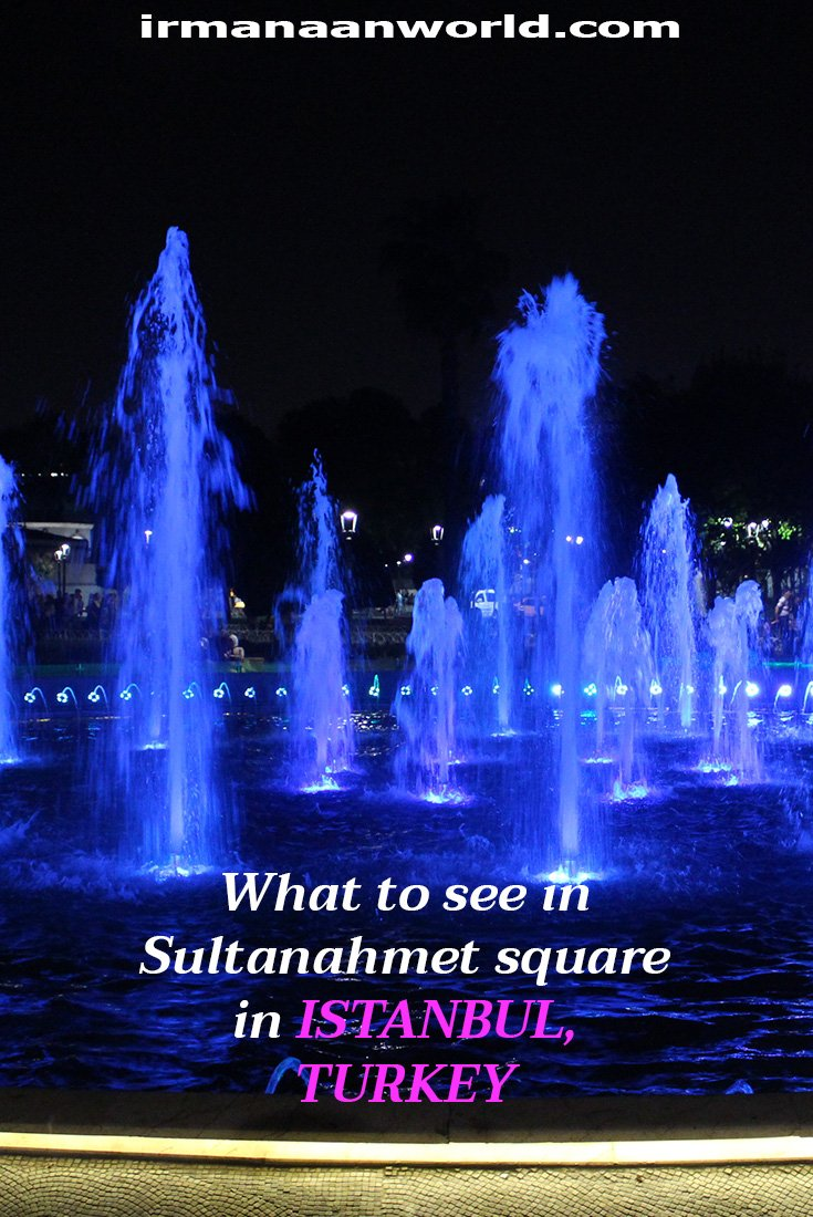 What to see in Sultanahmet Square in Istanbul, Turkey