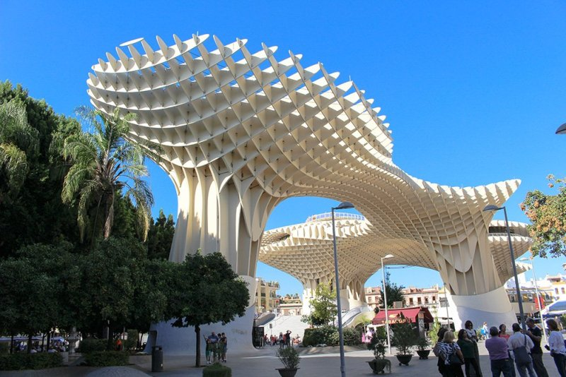 3 Weeks of Solo Travel in Spain, Part 6: a Long List of Places to See in Seville | Metropol Parasol