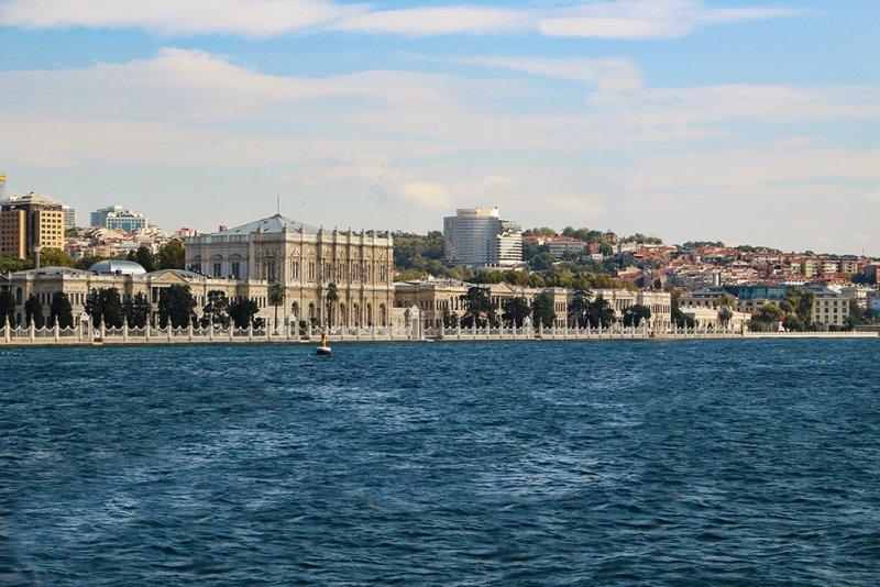 Один день на Бююкада, Принцевы острова, Стамбул | Долмабахче с парома