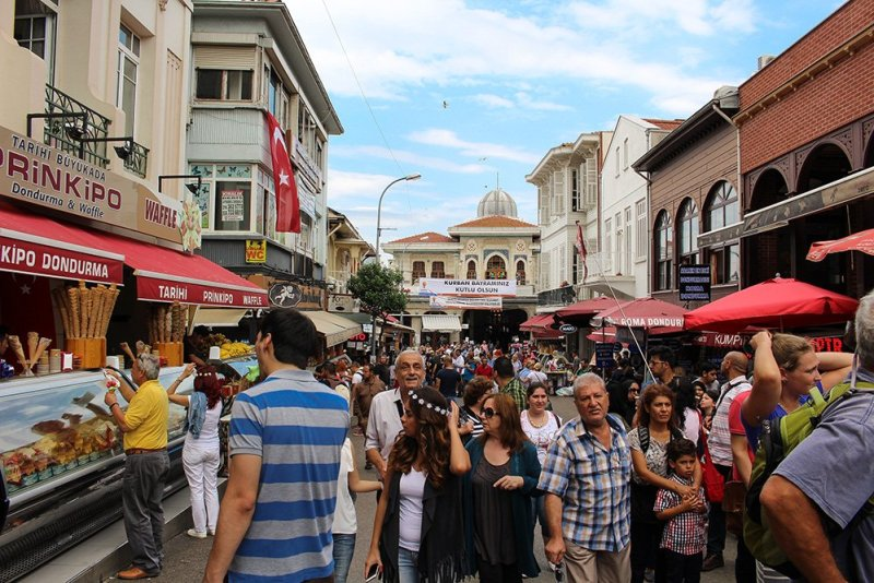 Один день на Бююкада, Принцевы острова, Стамбул | Улица на Бююкаде