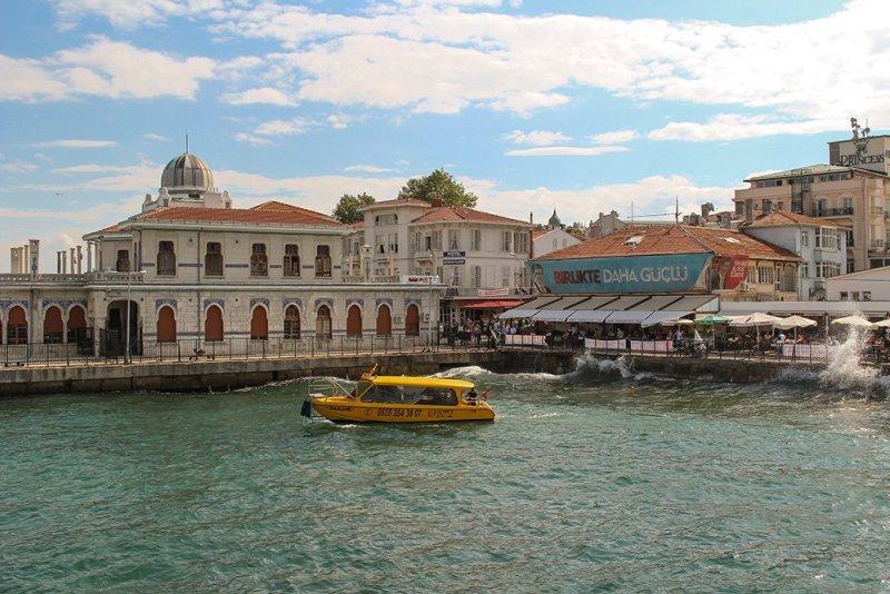 Один день на Бююкада, Принцевы острова, Стамбул | Причал острова Бююкада