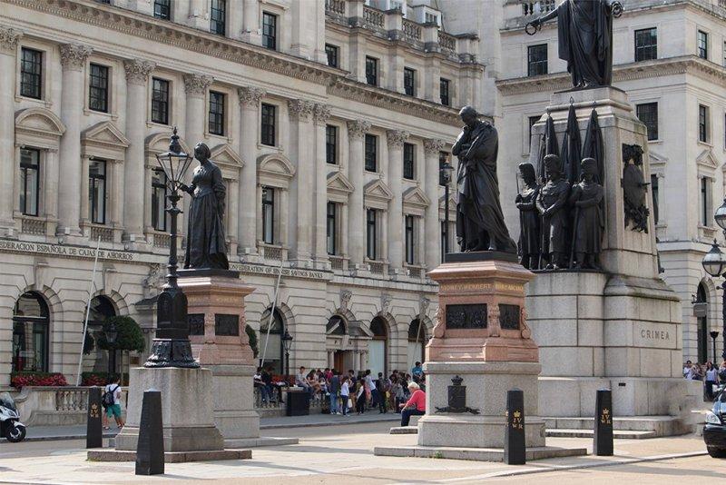Бесплатные достопримечательности Лондона | Pall Mall