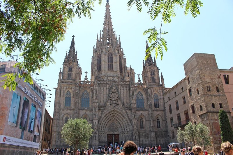 Что посмотреть в Барселоне в первый раз   Кафедральный собор Барселоны