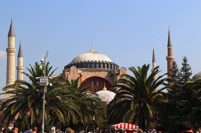 Что посетить в Стамбуле   Айя София