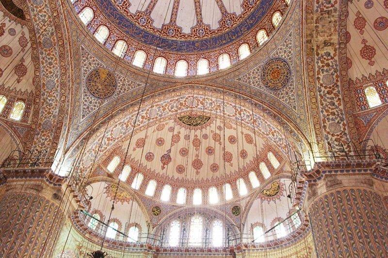 Что посетить в Стамбуле   Голубая мечеть