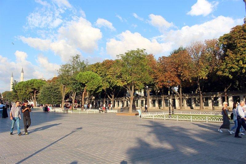 Что посетить в Стамбуле   Площадь Султанахмет