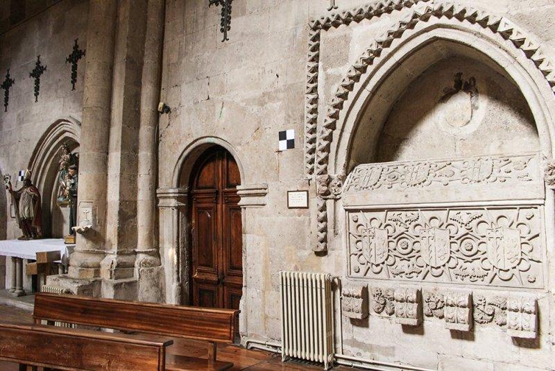Things to do in Salamanca, Spain   Inside the church of San Martin de Tours