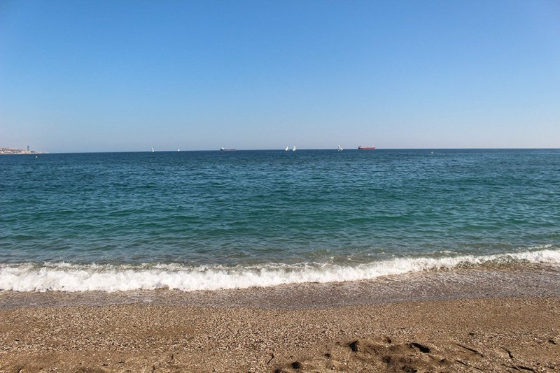 3 weeks in Spain itinerary | La Malagueta beach