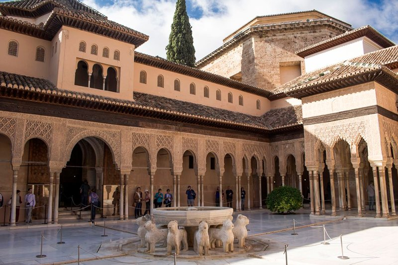 3 weeks in Spain itinerary | The Alhambra in Granada