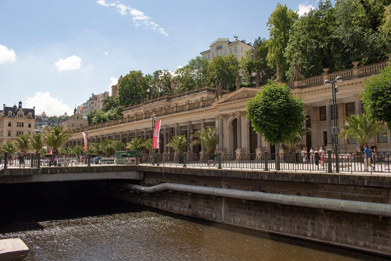 A day trip from Prague: what to do in Karlovy Vary | Mill Colonnade