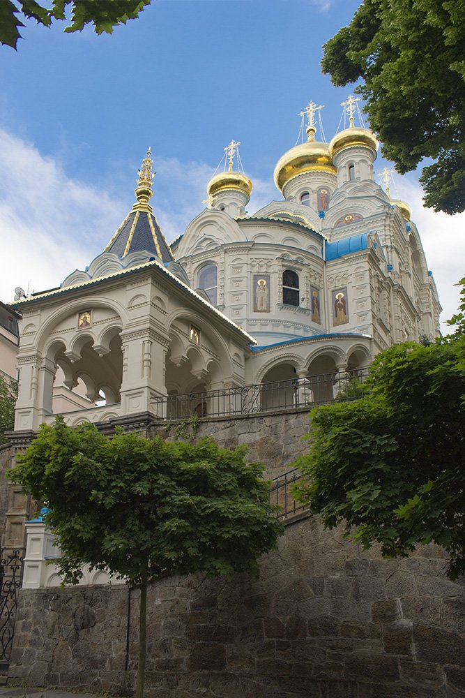 A day trip from Prague: what to do in Karlovy Vary | Orthodox Church of St Peter and Paul