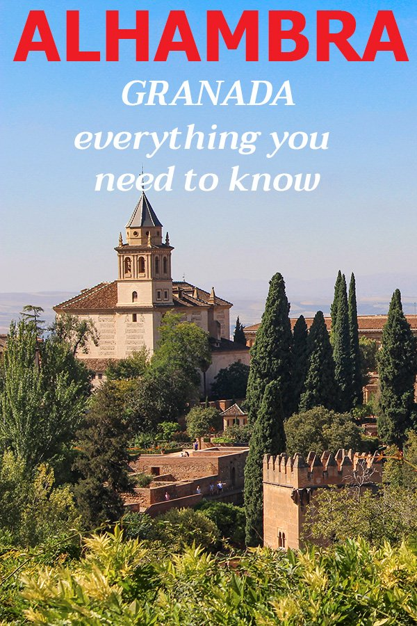 Everything about Alhambra, Granada, Spain | How and where to buy tickets for Alhambra, Granada, Spain | Travel tips for the Alhambra, Granada, Spain